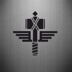 Наклейка Manowar Logo - FatLine
