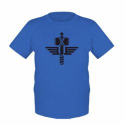Детская футболка Manowar Logo - FatLine