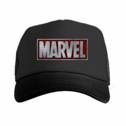Кепка-тракер Marvel 3D - FatLine