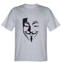 Мужская футболка Маска Вендетта - FatLine