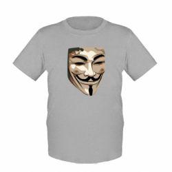 Детская футболка Маска Вендетта - FatLine