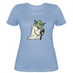 Женская футболка Master Yoda - FatLine