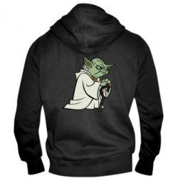Мужская толстовка на молнии Master Yoda - FatLine