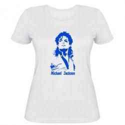 Женская футболка Майкл Джексон - FatLine