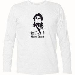 Футболка с длинным рукавом Майкл Джексон