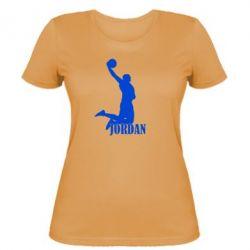 Женская футболка Майкл Джордан - FatLine