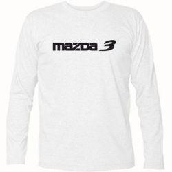 Футболка с длинным рукавом Mazda 3 - FatLine