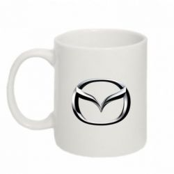 Кружка 320ml Mazda 3D Logo - FatLine