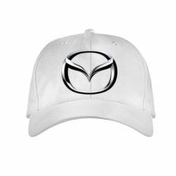 Детская кепка Mazda 3D Logo