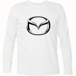 Футболка с длинным рукавом Mazda 3D Logo - FatLine