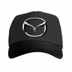 Кепка-тракер Mazda 3D Small Logo - FatLine