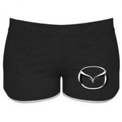 Женские шорты Mazda 3D Small Logo - FatLine