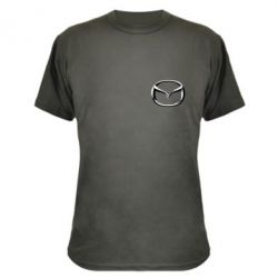 Камуфляжная футболка Mazda 3D Small Logo - FatLine