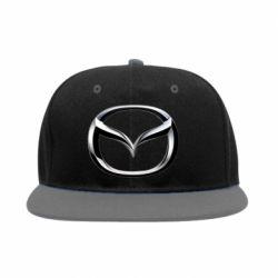 Снепбек Mazda 3D Small Logo - FatLine