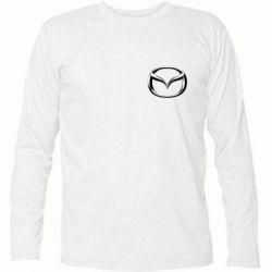 Футболка с длинным рукавом Mazda 3D Small Logo - FatLine