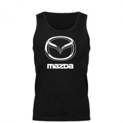 Мужская майка Mazda Logo - FatLine
