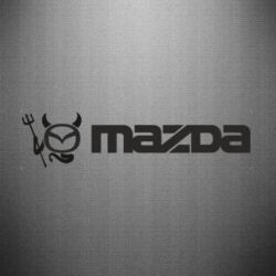 Наклейка Mazda - FatLine