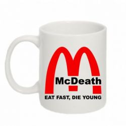 Кружка 320ml McDeath - FatLine