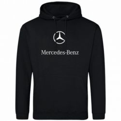 Толстовка Mercedes Benz logo - FatLine