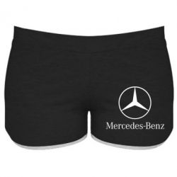 Женские шорты Mercedes Benz - FatLine