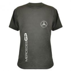Камуфляжная футболка Mercedes GP Logo - FatLine