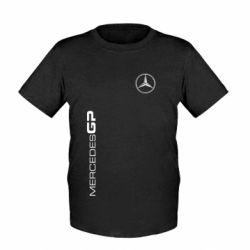 Детская футболка Mercedes GP Logo - FatLine