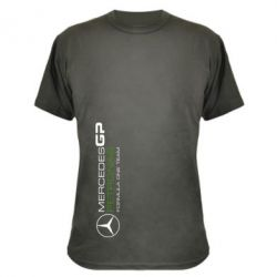 Камуфляжная футболка Mercedes GP Vert - FatLine