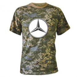 Камуфляжная футболка Mercedes - FatLine