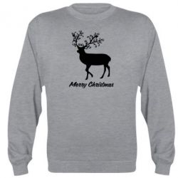 Реглан Merry Christmas Deer - FatLine