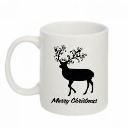 Кружка 320ml Merry Christmas Deer - FatLine