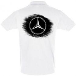Футболка Поло Мерседес арт, Mercedes art