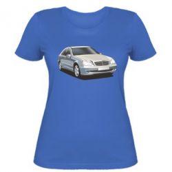 Женская футболка Мерседес - FatLine