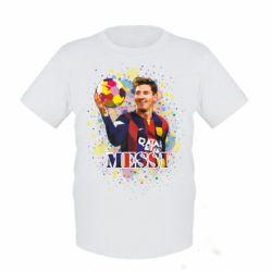 Детская футболка Месси Art