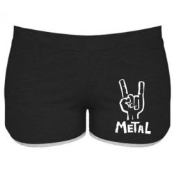 Женские шорты Metal - FatLine