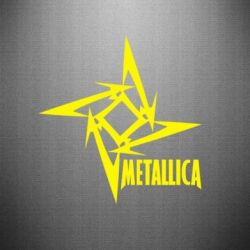 Наклейка Metallica Logotype - FatLine