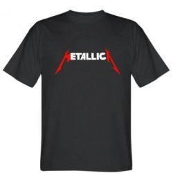 Мужская футболка Металлика - FatLine