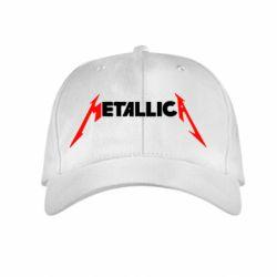 Детская кепка Металлика - FatLine
