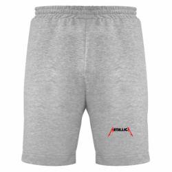 Мужские шорты Металлика - FatLine