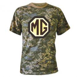 Камуфляжная футболка MG Cars Logo - FatLine