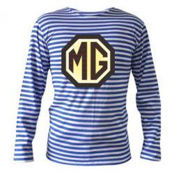Тельняшка с длинным рукавом MG Cars Logo - FatLine