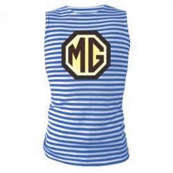 Майка-тельняшка MG Cars Logo - FatLine