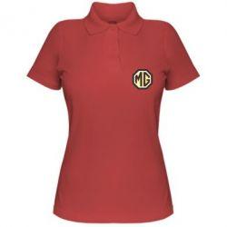 Женская футболка поло MG Cars Logo - FatLine