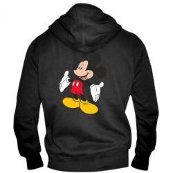 Мужская толстовка на молнии Mickey Mouse - FatLine