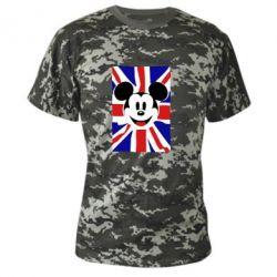 Камуфляжная футболка Mickey Swag - FatLine