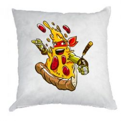 Подушка Микеланджело кусок пиццы