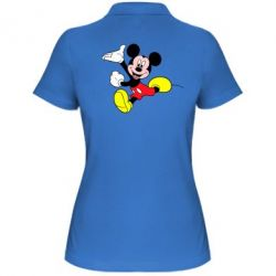 Женская футболка поло Микки Маус - FatLine