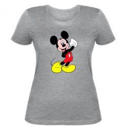 Женская футболка Микки Маус - FatLine