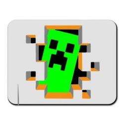 Коврик для мыши Minecraft 3D - FatLine