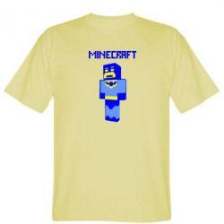 Мужская футболка Minecraft Batman - FatLine