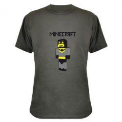 Камуфляжная футболка Minecraft Batman - FatLine